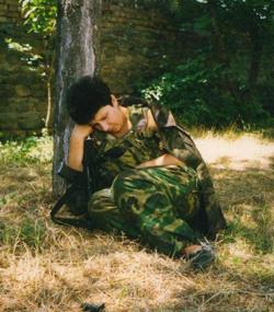 Отдых после боя в 1992 году